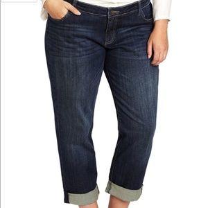 KUT from the Kloth Catherine Boyfriend Jeans 14W